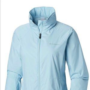Columbia waterproof hooded jacket, size small